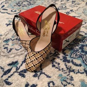 Salvatore Ferragamo Shoes - Salvatore Ferragamo Pippin Deserto/AV Fabric - 7.5